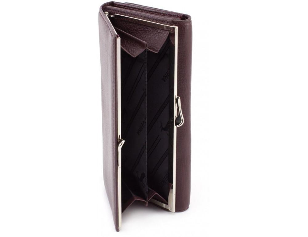 Бледно-розовый женский кожаный кошелёк Marco coverna MC-1412-6 - Фото № 5