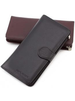 Чёрный кожаный портмоне Marco Coverna MC031-950-1