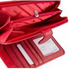 Красный кожаный кошелёк на кнопке Marco Coverna MC031-950-2 - Фото № 102