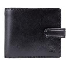 Чёрный мужской кошелек Visconti TSC41 BLK Massa c RFID