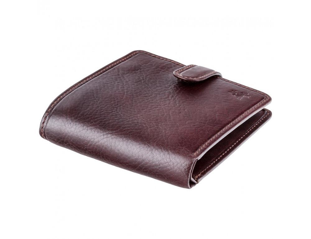 Тёмно-коричневый мужской кошелек Visconti TSC41 BRN Massa c RFID - Фото № 3