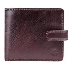 Темно-коричневий чоловічий гаманець Visconti TSC41 BRN Massa c RFID