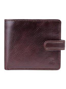 Тёмно-коричневый мужской кошелек Visconti TSC41 BRN Massa c RFID