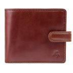 Мужской кожаный кошелек Visconti TSC42 Arezzo коричневый - Фото № 100