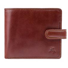 Мужской кожаный кошелек Visconti TSC42 Arezzo коричневый