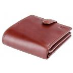 Мужской кожаный кошелек Visconti TSC42 Arezzo коричневый - Фото № 102