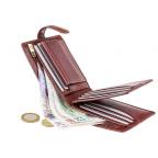 Мужской кожаный кошелек Visconti TSC42 Arezzo коричневый - Фото № 103