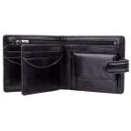 Мужской кожаный кошелек Visconti TSC42 BLK с RFID Arezzo black черный  - Фото № 101