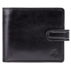 Мужской кожаный кошелек Visconti TSC42 BLK с RFID Arezzo black черный  - Фото № 100