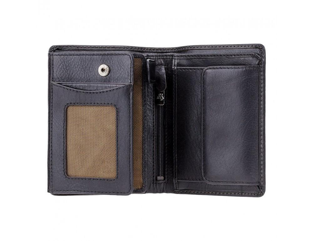 Мужской кожаный кошелек Visconti TSC44 Lucca чёрный - Фото № 2
