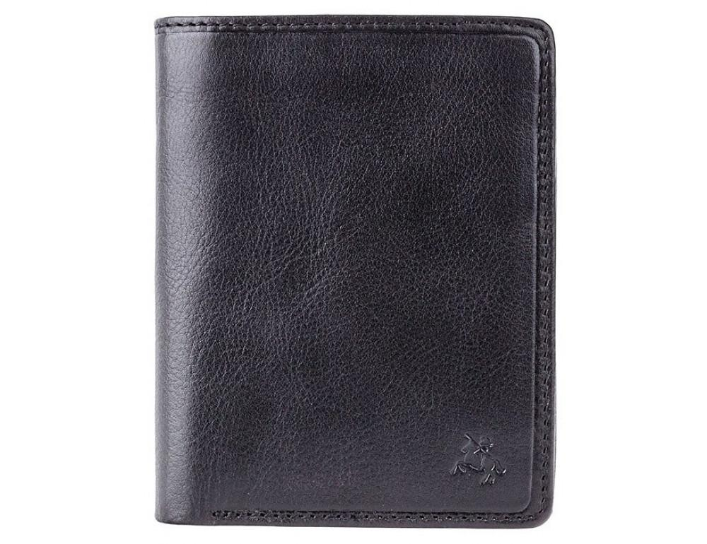 Мужской кожаный кошелек Visconti TSC44 Lucca чёрный - Фото № 1