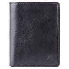 Мужской кожаный кошелек Visconti TSC44 Lucca чёрный