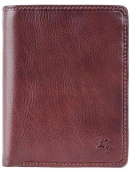 Тёмно-коричневый мужской портмоне Visconti TSC44 BRN Lucca c RFID