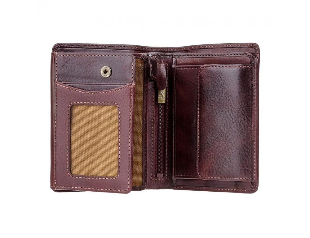 Тёмно-коричневый мужской портмоне Visconti TSC44 BRN Lucca c RFID - Фото № 2