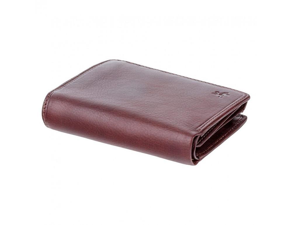 Тёмно-коричневый мужской портмоне Visconti TSC44 BRN Lucca c RFID - Фото № 3