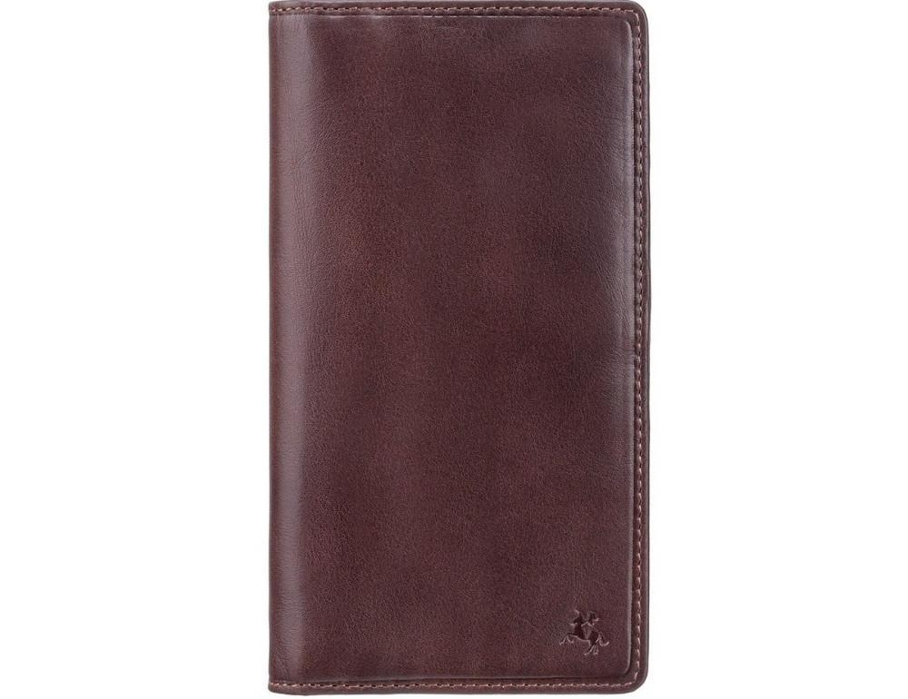 Тёмно-коричневый мужской кошелек Visconti TSC45 Carrara c RFID (Brown) - Фото № 1