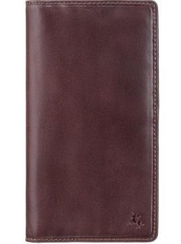 Тёмно-коричневый мужской кошелек Visconti TSC45 Carrara c RFID (Brown)