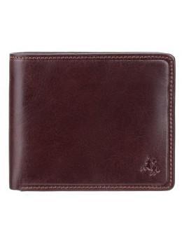 Тёмно-коричневый кошелек мужской Visconti TSC46 BRN Francesca c RFID (Brown)