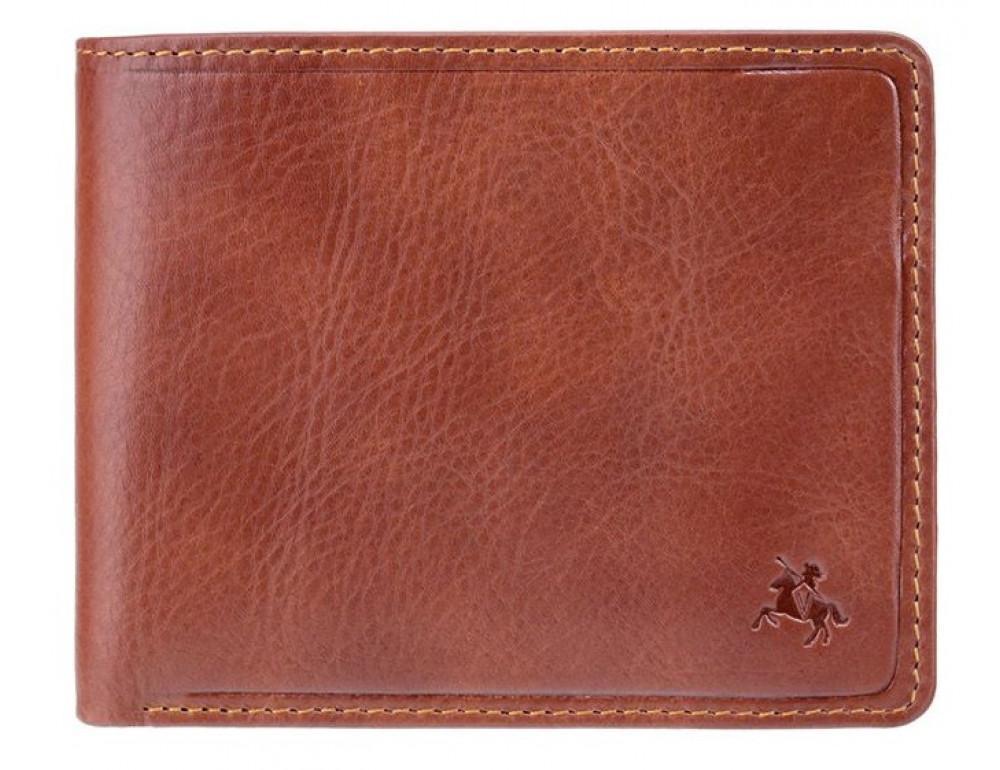 Коричневый кошелек мужской Visconti TSC46 TAN Francesca c RFID - Фото № 1