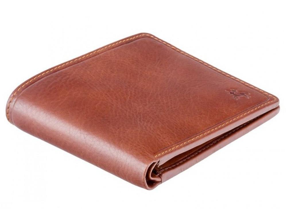 Коричневый кошелек мужской Visconti TSC46 TAN Francesca c RFID - Фото № 3