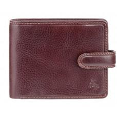 Коричневый кошелек мужской Visconti TSC47 BRN Riccardo c RFID