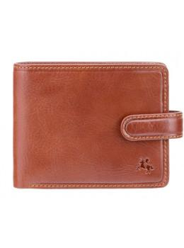 Коричневый кошелек мужской Visconti TSC47 TAN Riccardo c RFID