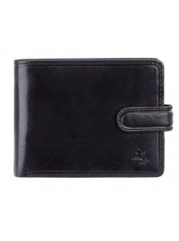 Черный мужской кошелек на защёлке Visconti TSC48 BLK
