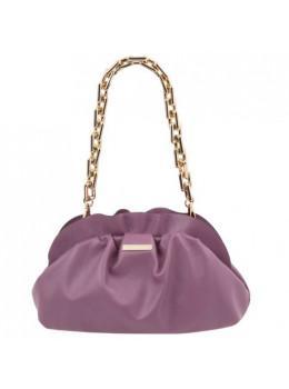 Жіноча лиловая шкіряна сумочка через плече Tuscany Leather TL142184 lilo