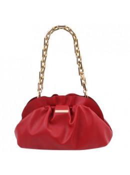 Червона шкіряна сумочка-клатч жіноча Tuscany Leather TL142184 Lipstick Red