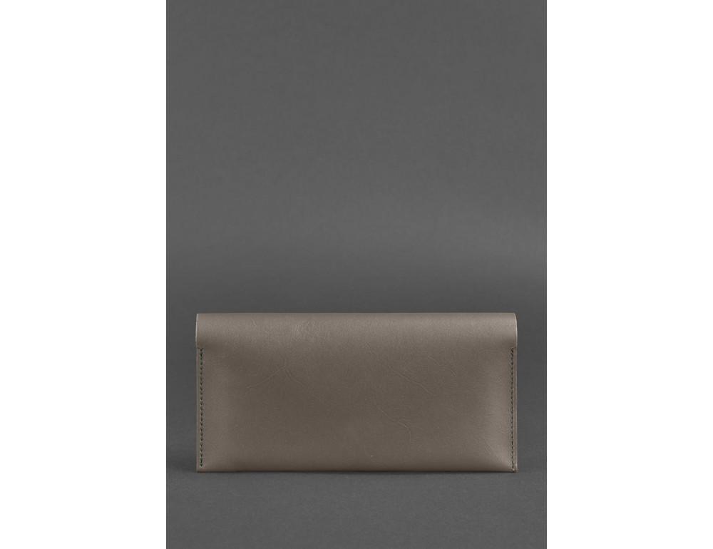 Тёмно-бежевый кожаный портмоне под документы Blanknote BN-TK-2-BEIGE - Фото № 4