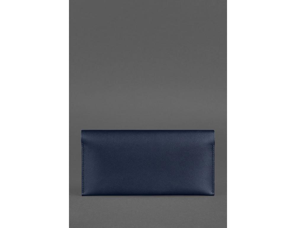 Тёмно-синий кожаный органайзер для документов Blanknote BN-TK-2-NAVY-BLUE - Фото № 4