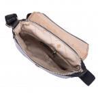 Чёрная кожаная сумка через плечо VIRGINIA CONTI V-01277A - Фото № 104