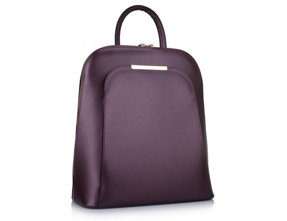 Бордовый кожаный рюкзак трансформер VirginiaConti V01345B - Фото № 1