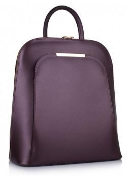 Бордовый кожаный рюкзак трансформер VirginiaConti V01345B