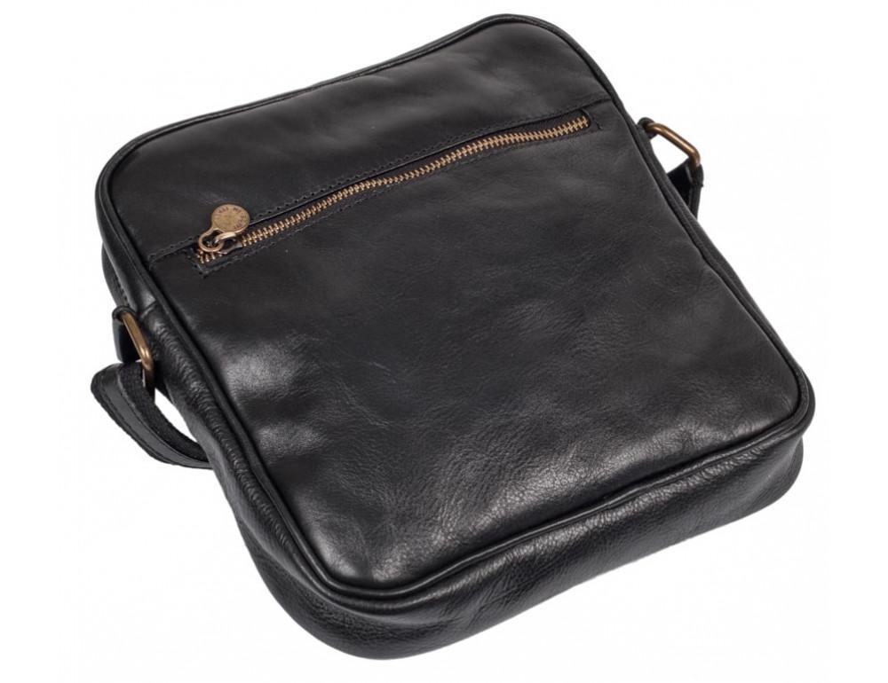 Мужская кожаная сумка через плечо VIRGINIA CONTI V-01508A - Фото № 3