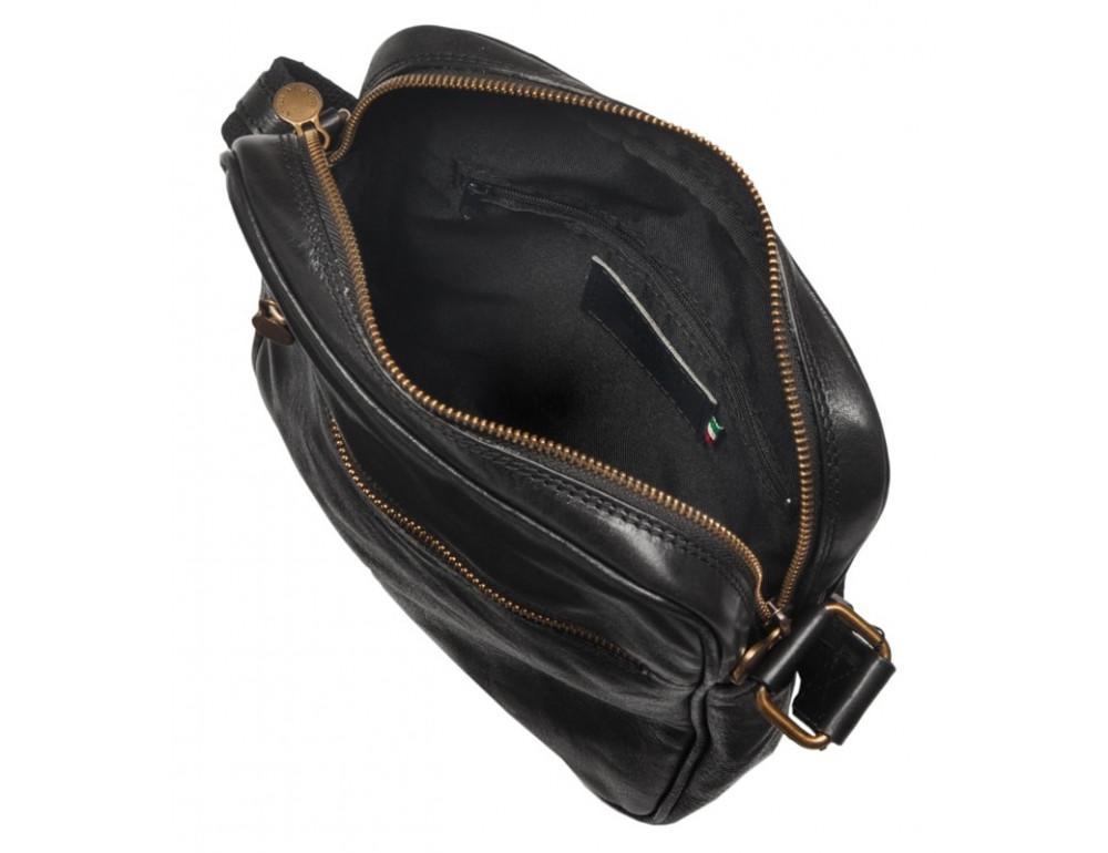 Мужская кожаная сумка через плечо VIRGINIA CONTI V-01508A - Фото № 4