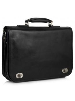 Чорний шкіряний портфель VIRGINIA CONTI VCm141305/08810black