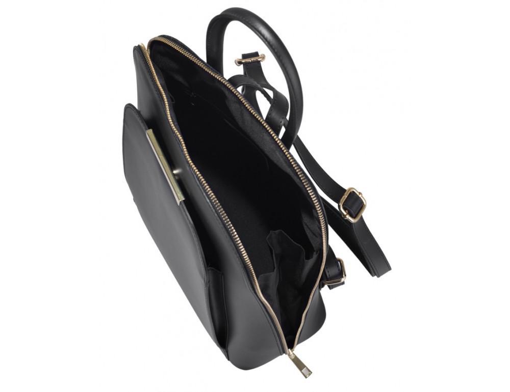 Женская сумка-рюкзак трасформер VirginiaConti V01345A - Фото № 6