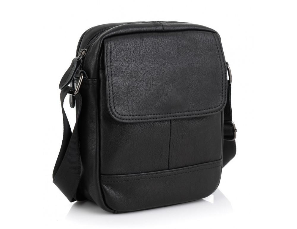Маленькая чёрная сумка Vintage v1394a