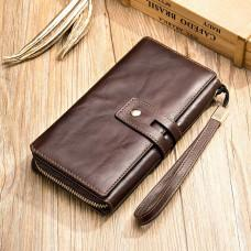 Мужской кожаный клатч: надёжно и практично