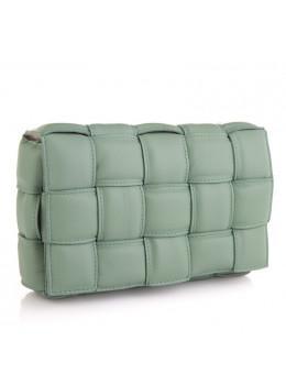 Оливкова шкіряна сумочка через плече VIRGINIA CONTI (ІТАЛІЯ) - VC02822OLIVE