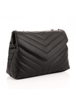 Женская кожаная сумочка через плечо VIRGINIA CONTI (Италия) - VC03023BLACK