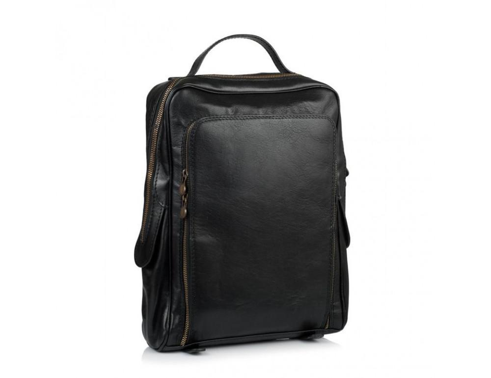 Чёрный кожаный рюкзак VIRGINIA CONTI (ИТАЛИЯ) - VCM00354/0604Black - Фото № 1