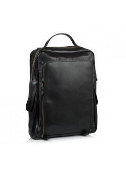 Чёрный кожаный рюкзак VIRGINIA CONTI (ИТАЛИЯ) - VCM00354/0604Black
