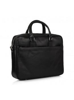 Кожаная сумка под документы VIRGINIA CONTI (Италия) - VCM01285/141241BLACK