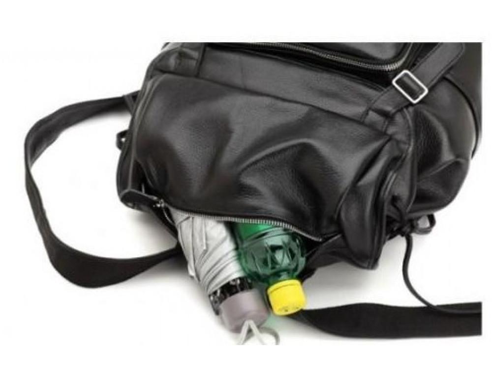 Вместительный кожаный рюкзак TIDING BAG t3067 - Фото № 4