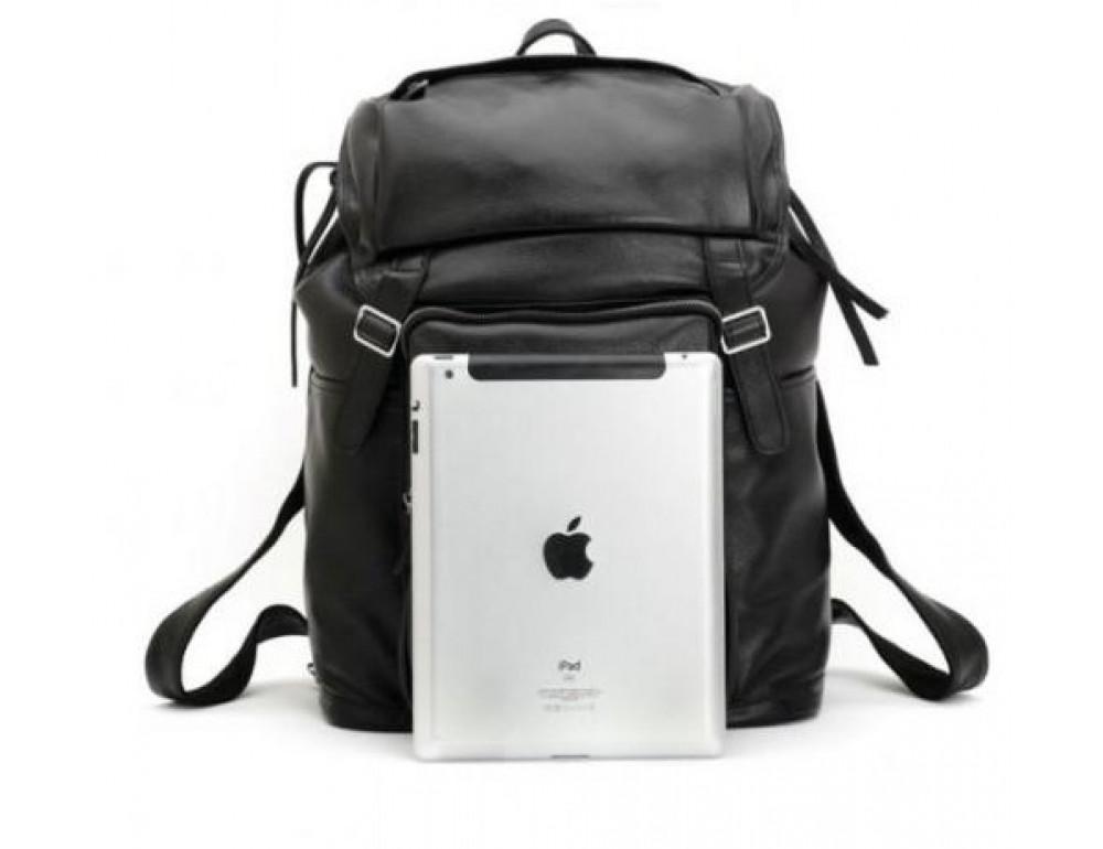 Вместительный кожаный рюкзак TIDING BAG t3067 - Фото № 5