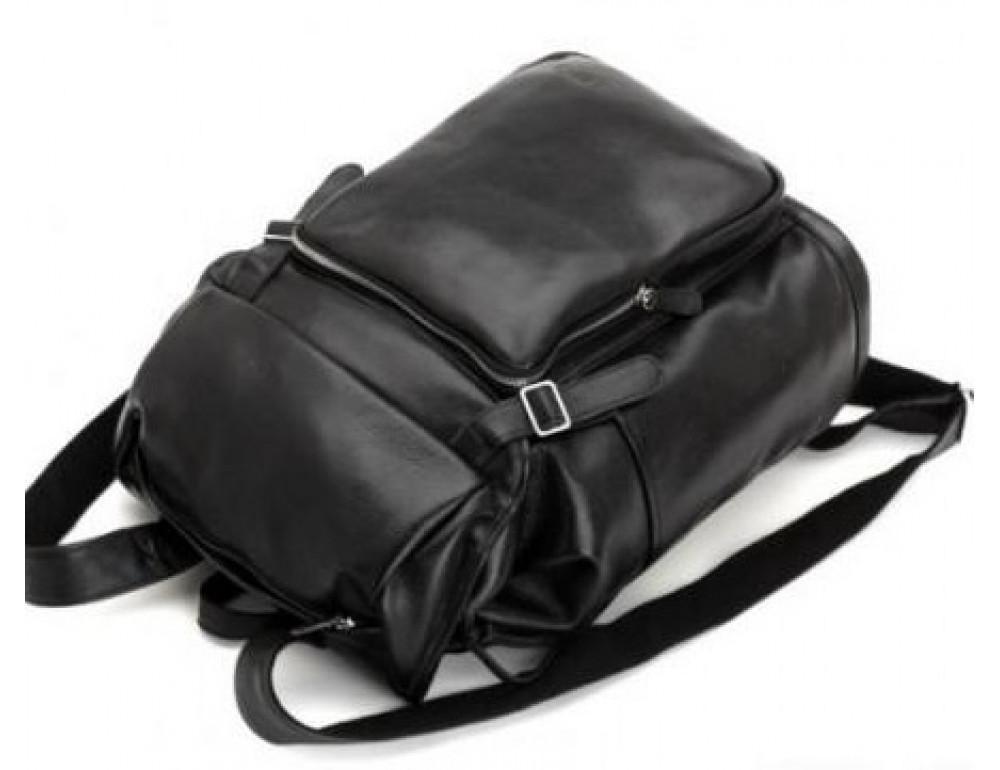 Вместительный кожаный рюкзак TIDING BAG t3067 - Фото № 3