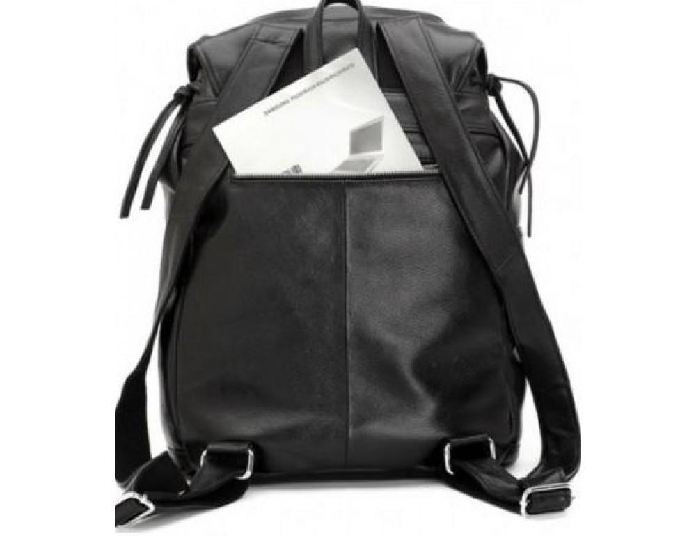 Вместительный кожаный рюкзак TIDING BAG t3067 - Фото № 7