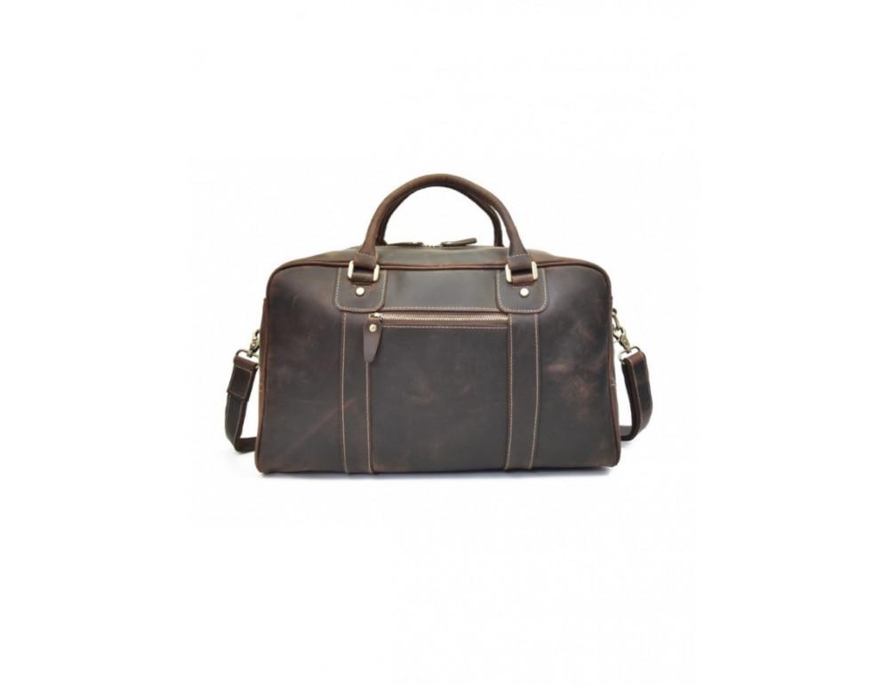 Шкіряна дорожня сумка Tiding Bag B26-7190R - Фотографія № 6